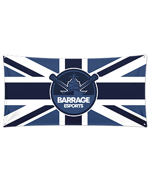Barrage - Wall Flag