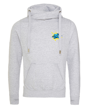 Blondiee Sophiee - Cross Neck Hoodie