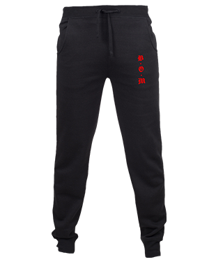 Band Of Misfits - Slim Cuffed Jogging Bottoms