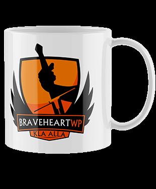 Braveheartwp - Drinking Mug