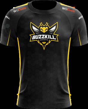 BuzzKill - Short Sleeve Esports Jersey - Black