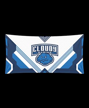 Cloudy - Wall Flag