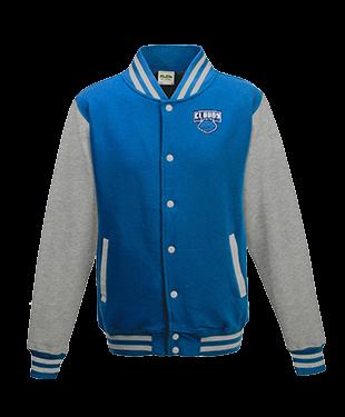 Cloudy - Varsity Jacket