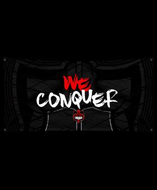Conquer - Wall Flag
