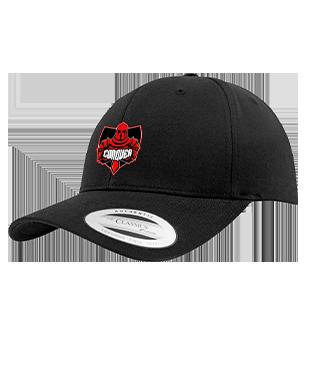 Conquer Gaming - Flexfit Curved Classic Snapback Cap
