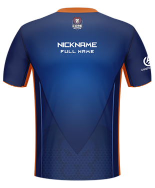 Core Gaming - Esports Player Jersey 2017
