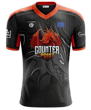 CounterPoint - Short Sleeve Esports Jersey