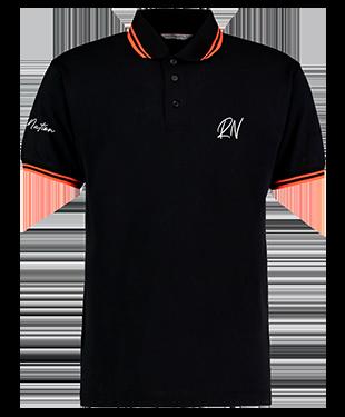 DeeRockUK - Contrast Polo Shirt