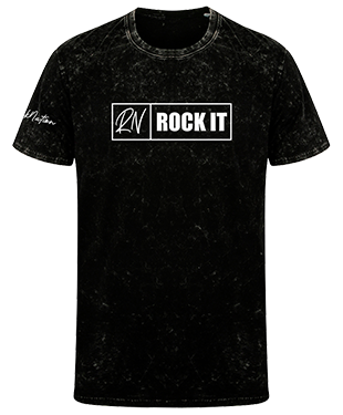 DeeRockUK - Washed T-Shirt