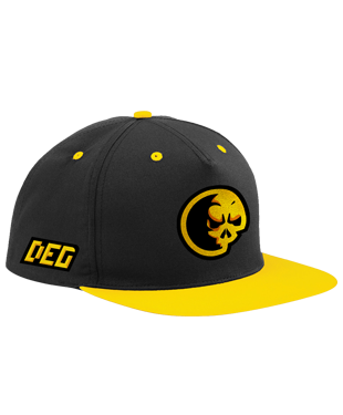 Dead Element Gaming - 5 Panel Contrast Snapback Cap