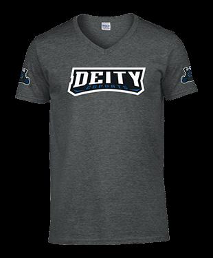 Deity - SoftStyle® V Neck T-Shirt