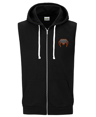 Detached - Sleeveless Hoodie with Zipper