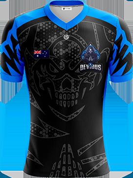Devious Esports - Short Sleeve Esports Jersey