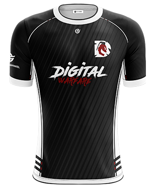 Digital Warfare - Short Sleeve Jersey - 2018/19 - Black