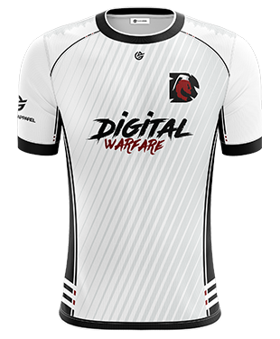 Digital Warfare -  Short Sleeve Jersey - 2018/19 - White