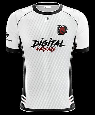 Digital Warfare -  Short Sleeve Jersey - 2018/19 - White