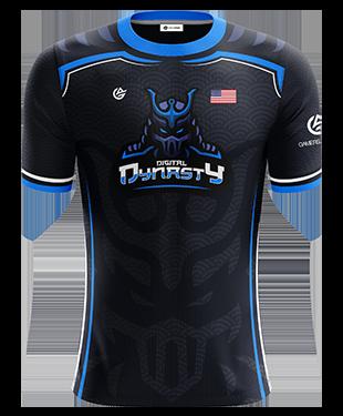 Digital Dynasty - Short Sleeve Esports Jersey