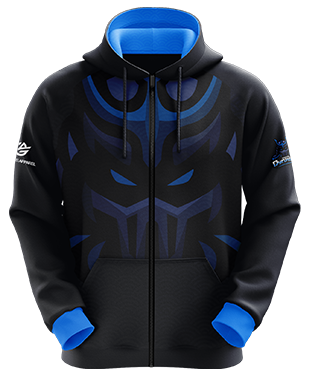 Digital Dynasty - Esports Hoodie with Zipper