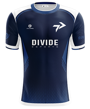 Divide - Short Sleeve Esports Jersey