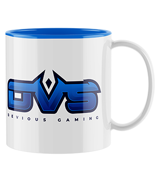 Devious Gaming - Mug with Coloured Inner & Handle