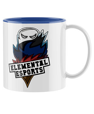 Elemental Esports - Mug with Coloured Inside