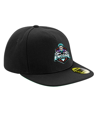 eNcore - Original Flat Peak Snapback Cap