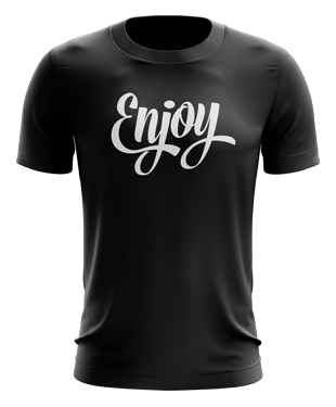 ENJOY Gaming - Script T-Shirt