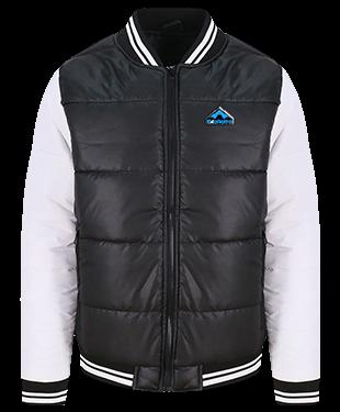 ExeRetro - Varsity Puffer Jacket