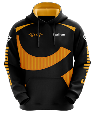 Exillium - Esports Hoodie without Zipper
