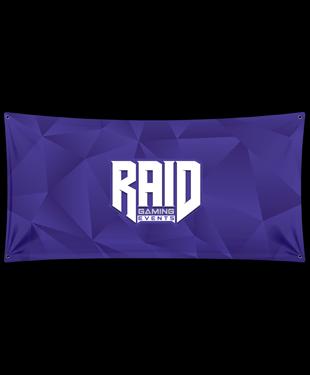 Raid - Esports Wall Flag