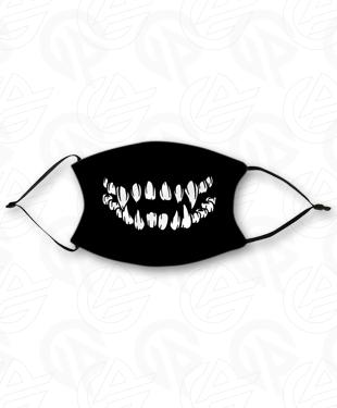 Tenacious Teeth - Adult Face Mask