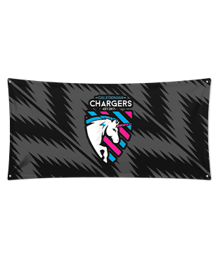 Caledonian Chargers - Wall Flag