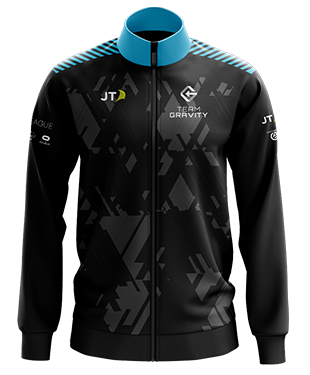 Team Gravity - Esports Player Jacket