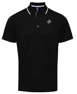 Team Gravity - Contrast Polo Shirt