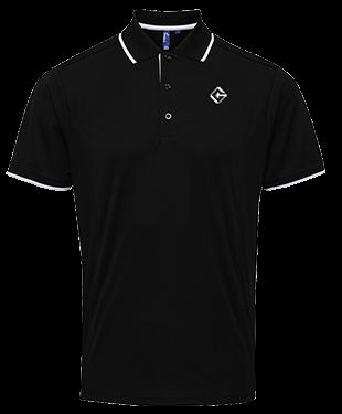 Team Gravity - Contrast Polo Shirt