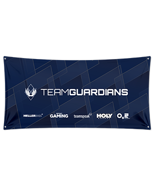Team Guardians - Wall Flag