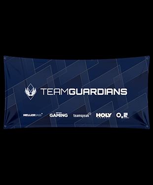 Team Guardians - Wall Flag