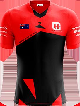 HM Engineering - Short Sleeve Esports Jersey