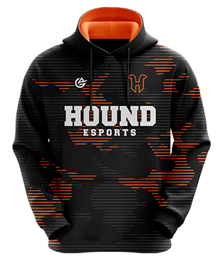 Hound Esports - Esports Hoodie without Zipper - Black