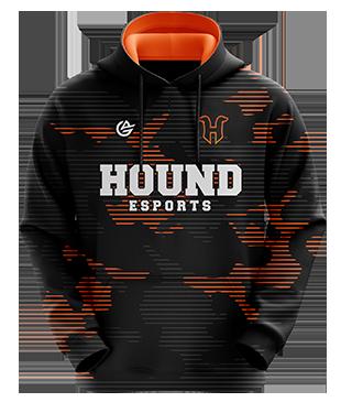 Hound Esports - Esports Hoodie without Zipper - Black