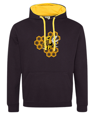 Hyve Central - Contrast Hoodie