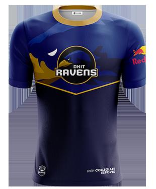dkitRavens - Short Sleeve Esports Jersey