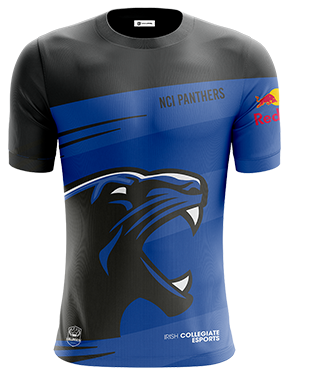 nciPanthers - Short Sleeve Esports Jersey