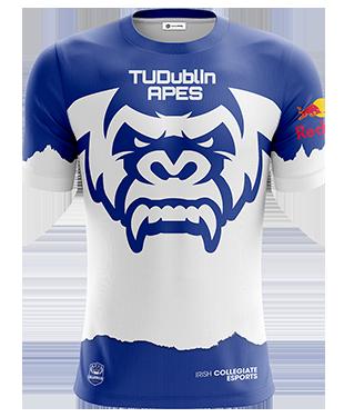 TUDublinApes - Short Sleeve Esports Jersey