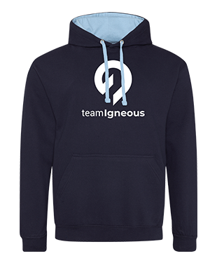 Team Igneous - Contrast Hoodie