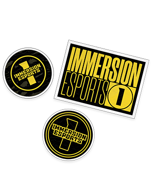 Immersion - Sticker Pack (3 x Stickers)