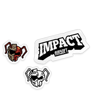 Impact Airsoft - Sticker Pack (3 x Stickers)
