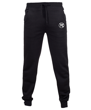 IMr Rebel - Slim Cuffed Jogging Bottoms