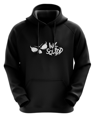 Ink Squid - Full Logo Hoodie - Black