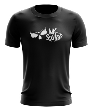 Ink Squid - Full Logo T-Shirt - Black